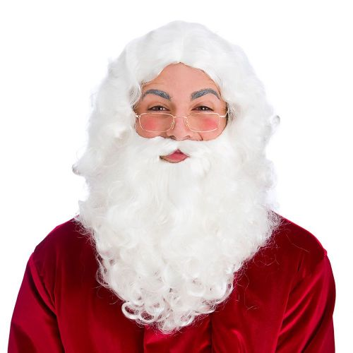Deluxe Santa Beard for Father Christmas Fancy Dress